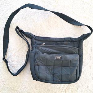 LUG Gray Crossbody Handbag